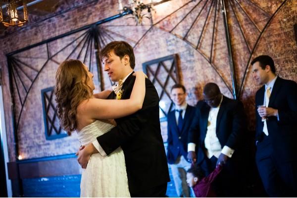 Rebar Wedding in Dumbo, Brooklyn, Briana and Mark