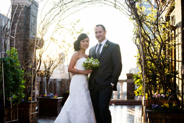 Rizalyn and Elliot, Midtown Loft and Terrace Wedding, New York City