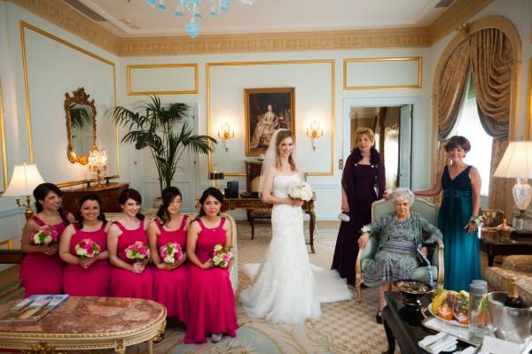 Amanda and Mark, Waldorf Astoria, Manhattan Penthouse Wedding