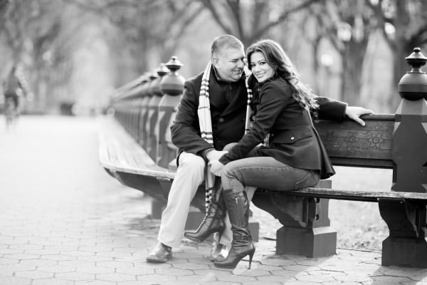 Jenessie and Edward, Engagement Shoot, Central Park, New York