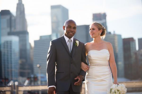 Shelli and Carl, Dumbo, Rebar, Brooklyn Wedding