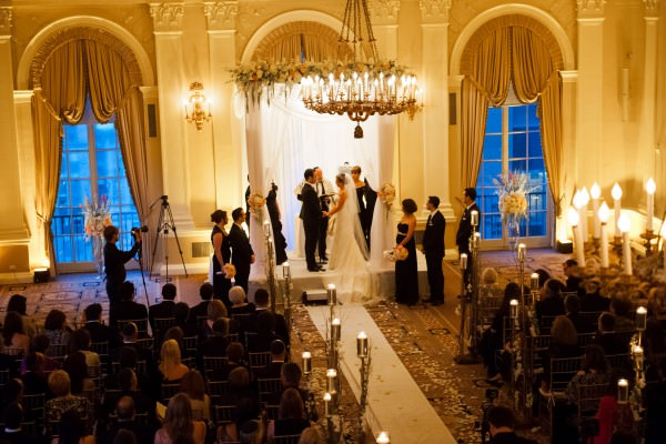 Lauren and Ben, The Yale Club Wedding, New York City
