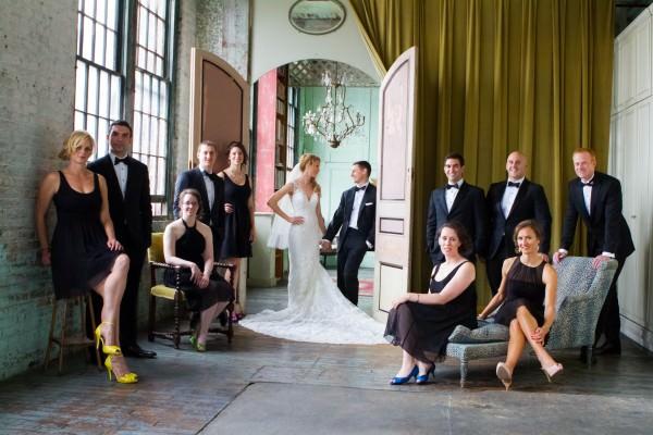 Allison and Bill, The Metropolitan Building Wedding, New York