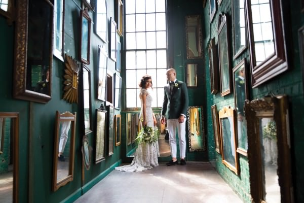 Priscilla and Kyle's Glamorous 1920s / Modern Day Brooklyn Inspired Wedding at the Metropolitan Building