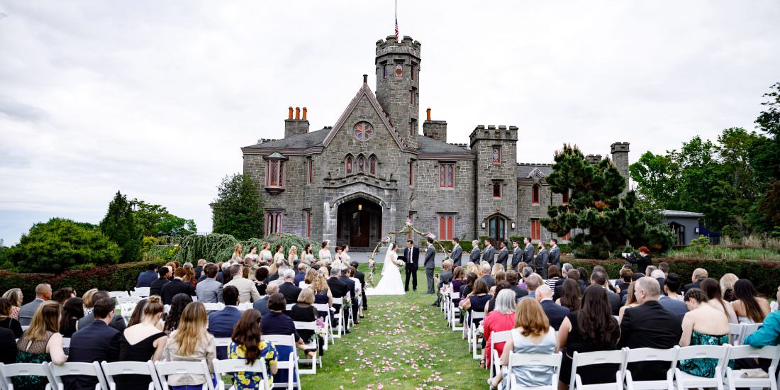 Jaclyn And Sean Whitby Castle Wedding Video Highlight Reel