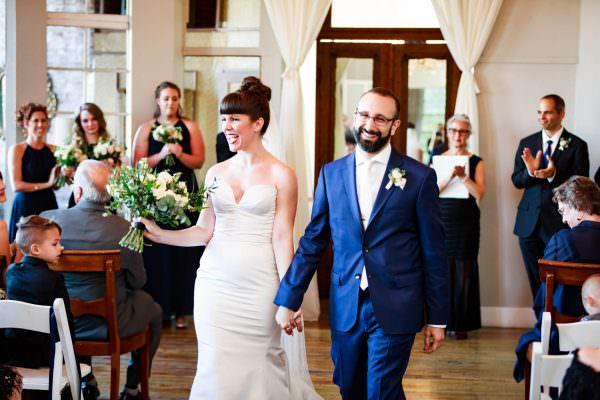 Beckie and Joe, The Metropolitan Building Wedding Photography