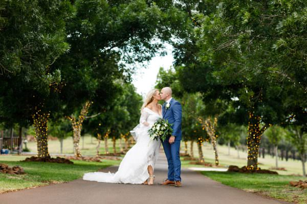 Robbie and Zoe, Preston Peak Winery Wedding Photography, Australia