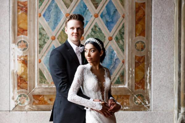 Melanie and Henrik, Central Park Loeb Boathouse Wedding Photography