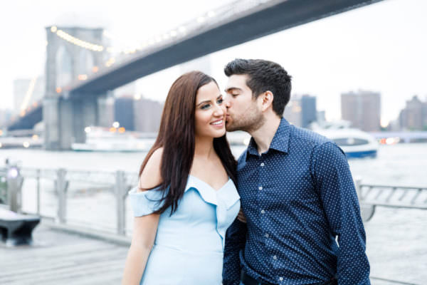 Elena and Andreas, Dumbo Brooklyn Engagement Shoot