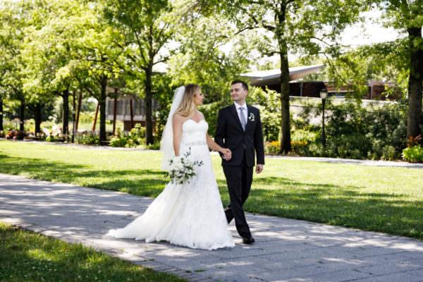 Queens Botanical Garden Wedding Photography