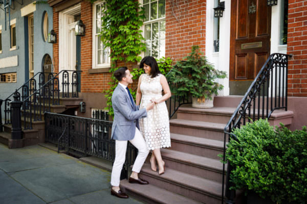 Jackie and Steven, West Village Engagement Shoot