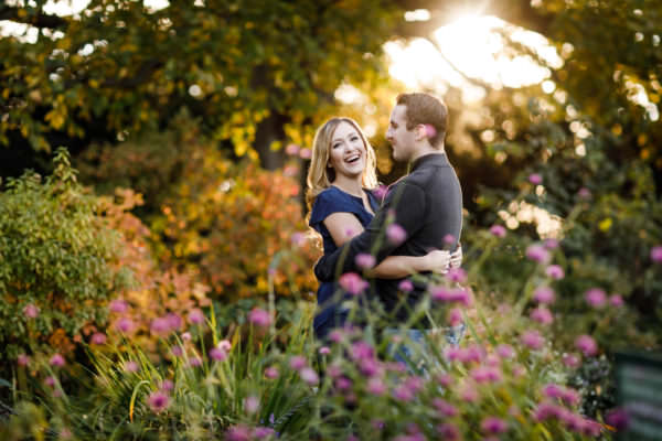 Katie and John, Fort Tryon Engagement Shoot