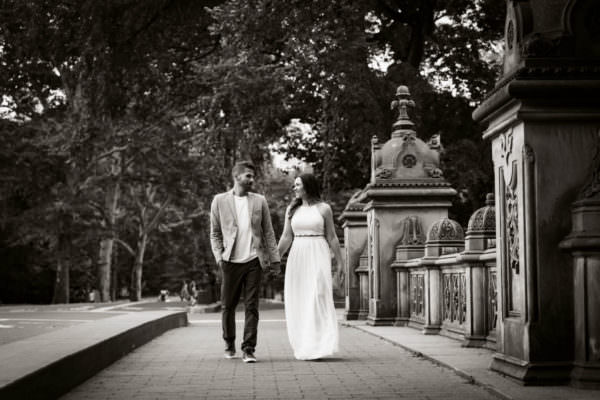 Britney and Anthony, Central Park Engagement Shoot