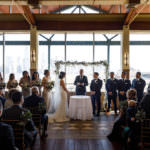 Winter wedding at Liberty House