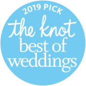 Knot best of weddings award 2019