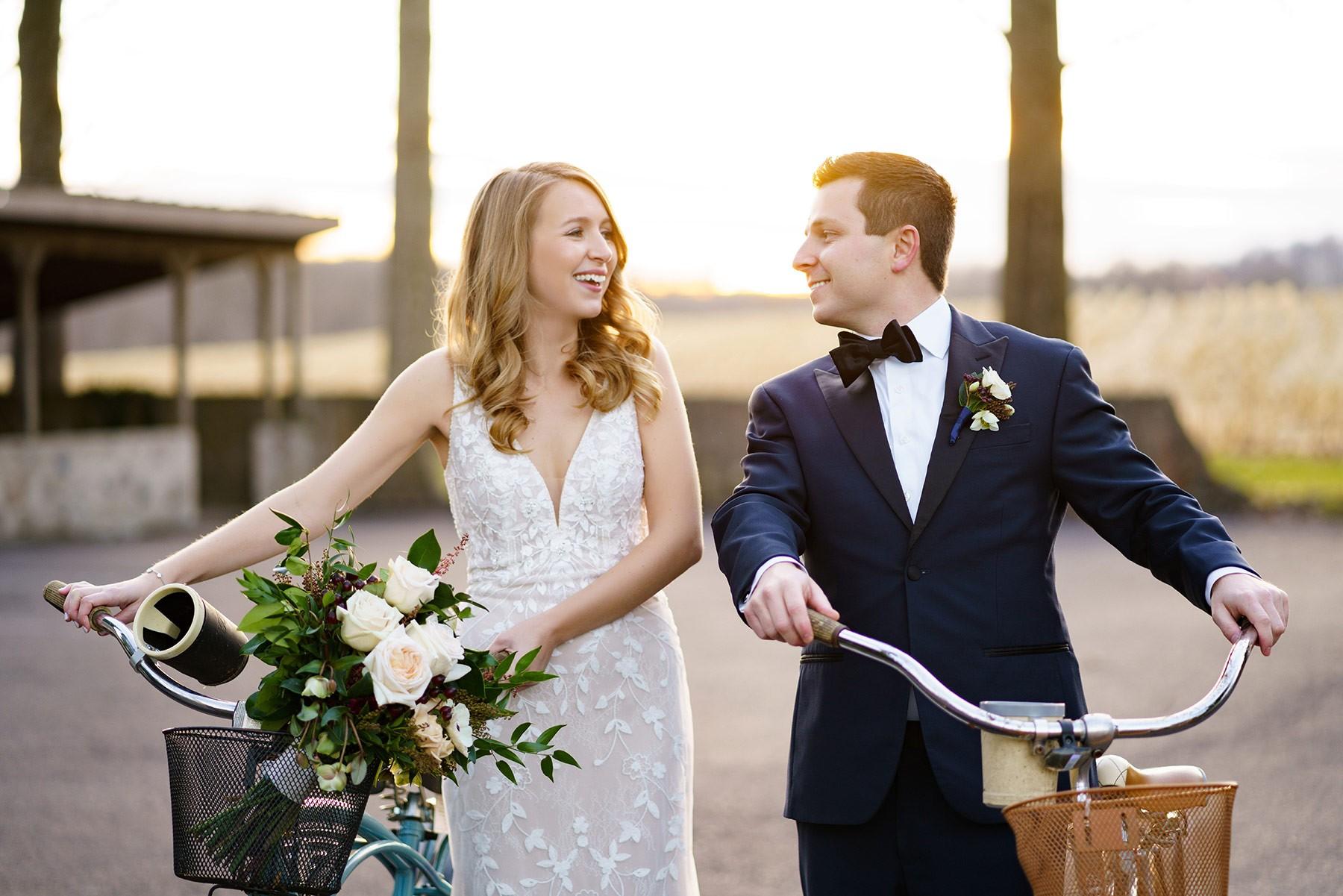 Bicycle-wedding