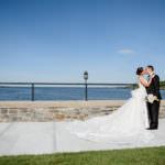 Glen Island Harbor Club wedding photo