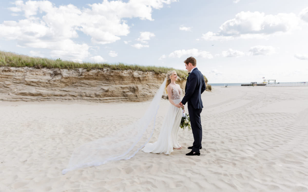 Kate and JP, Lawrence Beach Club Wedding Photography