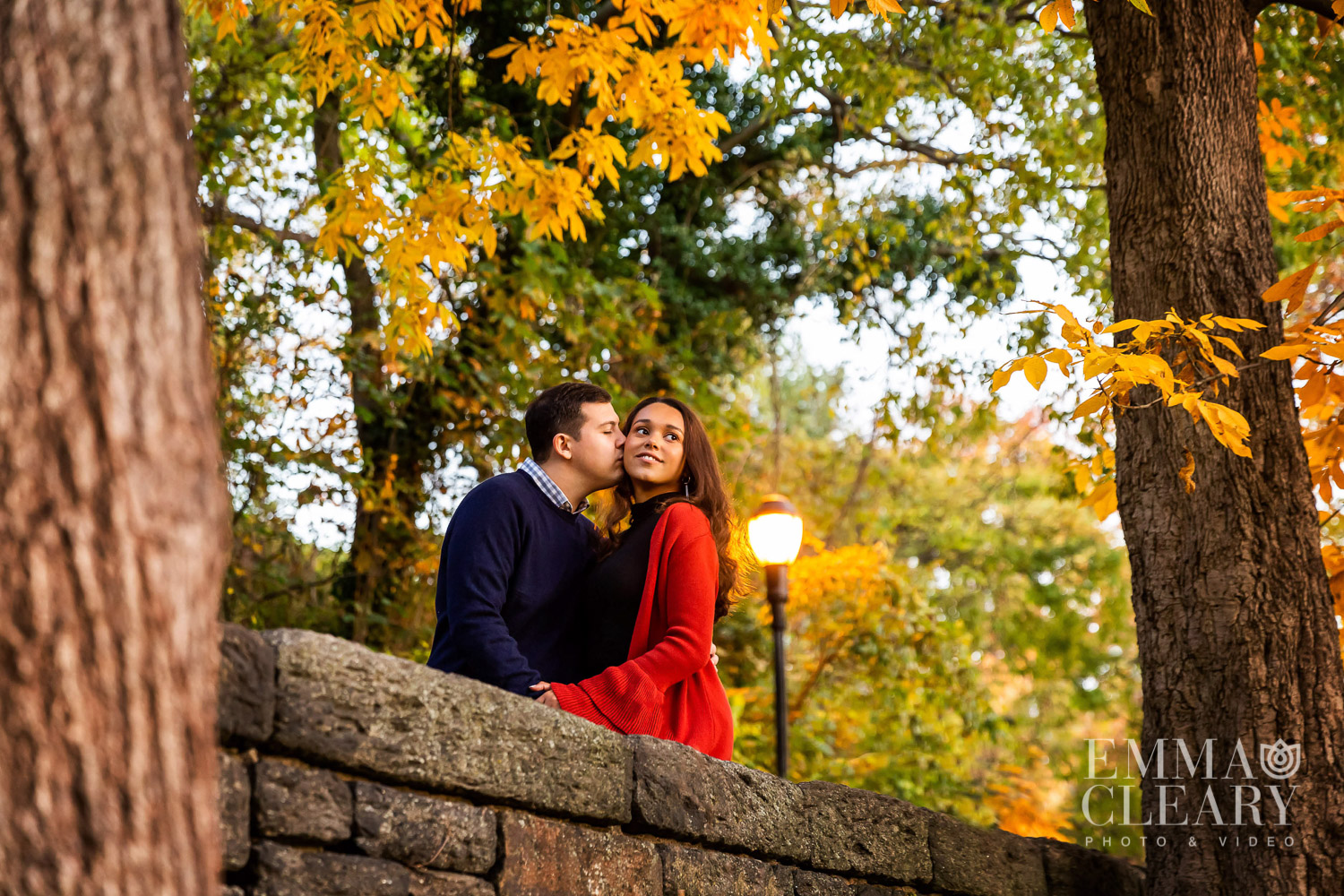 Fort Tryon Park Engagement shoot