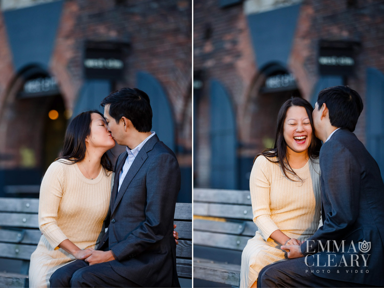 St Ann's Warehouse Engagement Photos