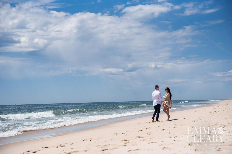 Southampton beach proposal photography